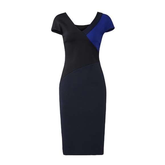 0e52fd7b20f2c6 Diane Von Furstenberg Dresses   Skirts - Diane von Furstenberg colorblock banded  dress ...
